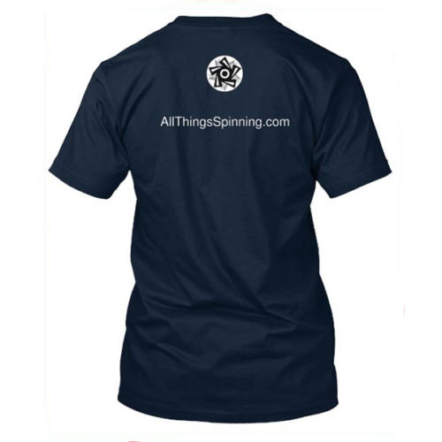 All Things Spinning T-Shirt Back